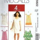 Women 2008 Dress Sewing Pattern McCalls 5622 Plus Size 18, 20, 22, 24