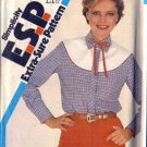 Simplicity 5507 Misses Western Blouse Sewing Pattern Size 10, 12, 14