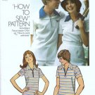 Simplicity 5515 Mens Knit Shirt 70s Vintage Sewing Pattern Size Med 38, 40