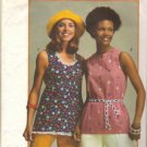 Simplicity 5547 Misses 70s Sleeveless Tops Sewing Pattern Size 16, 18