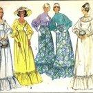 Simplicity 5569 Misses 70s Bride Bridesmaid Dress Sewing Pattern Sz 10