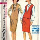 Misses 60s Jumper, Blouse, Skirt Sewing Pattern Simplicity 5572 Size 11