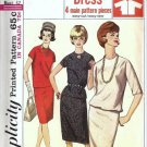 Simplicity 5709 Misses Top, Skirt 60s Sewing Pattern Size 12