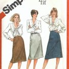 Simplicity 5788 Misses Proportioned Skirt Sewing Pattern Size 10