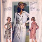 Misses 70s Shift Dress Sewing Pattern Size 14 Simplicity 5792