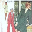 Simplicity 5811 Misses 70s Jacket, Skirt, Pants Sewing Pattern Size 12