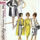 Simplicity 5834 Misses Coat, Dress 60s Vintage Sewing Pattern Size 12