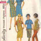 Simplicity 6089 Misses 60s Dress, Skirt, Slacks Sewing Pattern Size 16