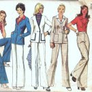 Simplicity 6285 Misses Jacket, Blouse, Pants Sewing Pattern Size 10