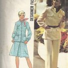 Simplicity 6294 Misses 70s Jacket, Skirt, Pants Sewing Pattern Size 10