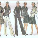 Misses Jacket Top Skirt Pants Sewing Pattern Simplicity 6514 Size 12