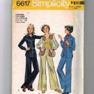 Teen Girl Shirt Jacket, Pants Sewing Pattern Simplicity 6617 Sz 5/6, 7/8