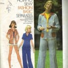 Simplicity 6808 Misses Shirt, Pants, Shorts Sewing Pattern Size 12