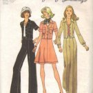 Simplicity 6812 Misses 70s Jacket, Skirt, Pants Sewing Pattern Size 10
