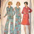 Simplicity 6854 Misses Blouse, Skirt, Top, Pants Sewing Pattern Sz 12