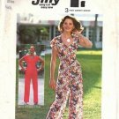 Misses 70s Wrap Top, Pants Sewing Pattern Simplicity 6920 Size 10
