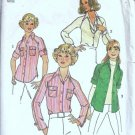 Simplicity 7057 Misses Raglan Shirt 70s Sewing Pattern Size 12, 14