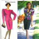 Simplicity 7100 Misses 90s Suit Dress Sewing Pattern Size 10, 12