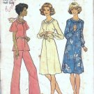Simplicity 7148 Misses Dress Top Pants Vintage Sewing Patter Sz 16 1/2