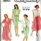 Simplicity 7164 Misses Dress, Jacket Sewing Pattern Size 10 12 14 16 18