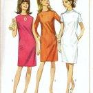 Simplicity 7167 Misses Slim Dress 60s Sewing Pattern Size 12 Uncut