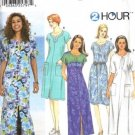 Simplicity 7218 Misses Dress 2 Hr Sewing Pattern Size XS, S, M
