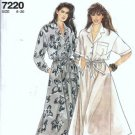 Simplicity 7220 Misses Dress Sewing Pattern Size 8 10 12 14 16 18 20