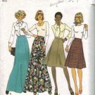 Simplicity 7308 Misses 70s Skirts Vintage Sewing Pattern Size 18, 20