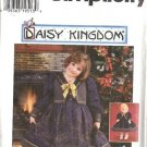 Simplicity 7359 Girls Dress Daisy Kingdom Sewing Pattern Sz 3, 4, 5, 6