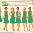 Simplicity 7360 Misses Dress, Cardigan, Scarf Sewing Pattern Half Size 16