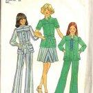 Simplicity 7368 Girls Shirt, Skirt, Pants Vtg Sewing Pattern 12, 14