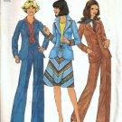Simplicity 7442 Misses Jacket Skirt Pants Vintage Sewing Pattern Sz 12