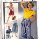 Simplicity 7459 Misses Pants, Culotte, Shorts Sewing Pattern Size 6
