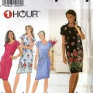 Misses 1 Hour Dress Sewing Pattern Simplicity 7498 Size 6, 8, 10, 12