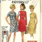 Simplicity 7509 Misses Basic Dress 60s Sewing Pattern Half Size 14 1/2