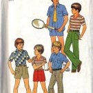 Simplicity 7513 Boys 70s Shirts, Pants, Shorts Sewing Pattern Size 12
