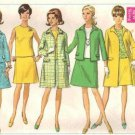 Simplicity 7543 Misses Coat Jacket Blouse Skirt Sewing Pattern Sz 12