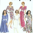 Simplicity 7610 Misses Dress W/2 Skirts Sewing Pattern Size 6, 8, 10