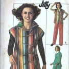 Simplicity 7614 Misses 70s Jacket, Pants Sewing Pattern Size 10