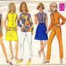 Simplicity 7618 Misses Pants Shorts Skirt Blouse Sewing Pattern Sz 16