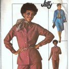 Simplicity 7703 Misses Top Skirt Pants Vintage Sewing Pattern Size 12