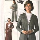 Simplicity 7786 Misses 70s Skirt, Pants, Jacket Sewing Pattern Size 10
