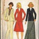 Simplicity 7799 Misses Bias Skirt Pants Jacket Sewing Pattern Sz 10