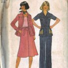 Simplicity 7800 Misses Shirt , Pants, Wrap Skirt Sewing Pattern Sz 10