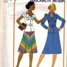 Simplicity 7846 Misses 70s Top, Bias Skirt Sewing Pattern Size 10, 12
