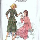 Simplicity 7952 Misses Dress 70s Vintage Sewing Pattern Size 10