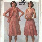 Simplicity 7965 Misses Dress, Jacket Vintage Sewing Pattern Size 16