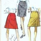 Misses Skirt 60s Vintage Sewing Pattern Simplicity 7995 Waist 24