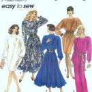 Simplicity 7999 Misses Slim, Flared Dress Sewing Pattern 6, 8, 10, 12