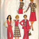 Simplicity 7999 Misses Vest, Pants, Skirt, Jacket Sewing Pattern Sz 8